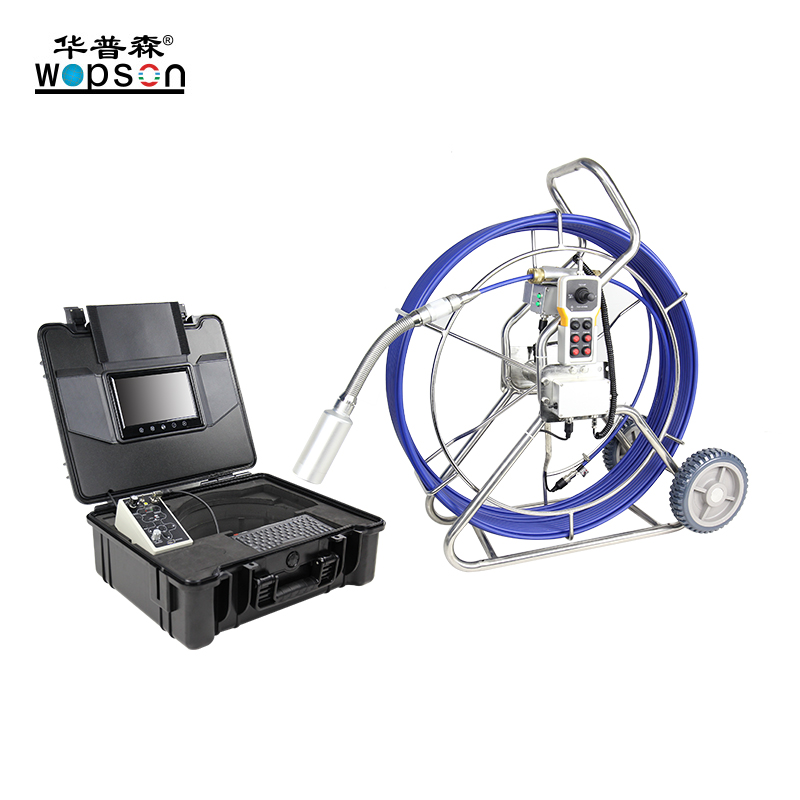 A4 WOPSON manual focus Push rod plumbing camera for leak detection